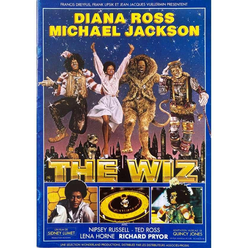 THE WIZ Dossier de presse 24p - 21x30 cm. - 1978 - Michael Jackson, Sidney Lumet