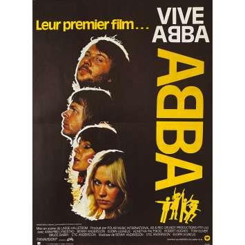 VIVA ABBA Affiche de film- 40x60 cm. - 1977 - Anni-Frid Lyngstad, Lasse Hallström
