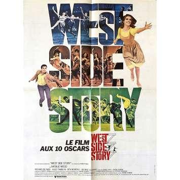 WEST SIDE STORY Affiche de film- 40x60 cm. - R1970 - Natalie Wood, Robert Wise