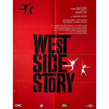 WEST SIDE STORY Affiche de film- 60x80 cm. - R2000 - Natalie Wood, Robert Wise
