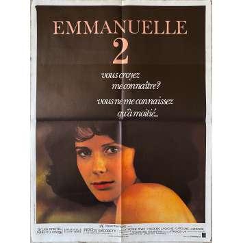 EMMANUELLE 2 Affiche de film- 60x80 cm. - 1975 - Sylvia Kristel, Francis Giacobetti