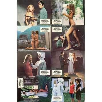 SISTER EMMANUELLE Original Lobby Cards X8 - 9x12 in. - 1977 - Josep Warren, Laura Gemser