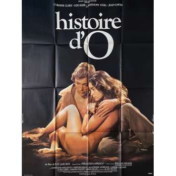 THE STORY OF O Original Movie Poster Style B - 47x63 in. - 1975 - Just Jaeckin, Corinne Cléry
