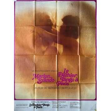 LE DERNIER TANGO A PARIS Affiche de film- 120x160 cm. - 1972 - Marlon Brando, Bernardo Bertolucci