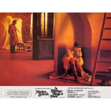 LAST TANGO IN PARIS Original Lobby Card N3 - 9x12 in. - 1972 - Bernardo Bertolucci, Marlon Brando