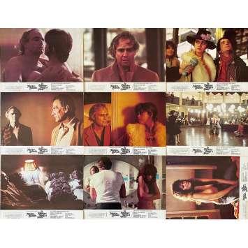 LAST TANGO IN PARIS Original Lobby Cards X8 - Jeu B - 9x12 in. - 1972 - Bernardo Bertolucci, Marlon Brando