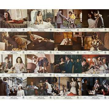 MALICIA Original Lobby Cards X16 - 9x12 in. - 1973 - Salvatore Samperi, Laura Antonelli