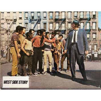 WEST SIDE STORY Photo de film N7 - 21x30 cm. - R1970 - Natalie Wood, Robert Wise