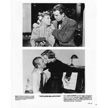 THE GLEN MILLER STORY Photo de presse 1741-13 - 20x25 cm. - R1980 - James Stewart, Anthonny Mann