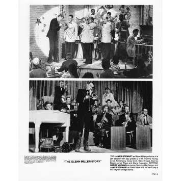 THE GLEN MILLER STORY Photo de presse 1741-5 - 20x25 cm. - R1980 - James Stewart, Anthonny Mann