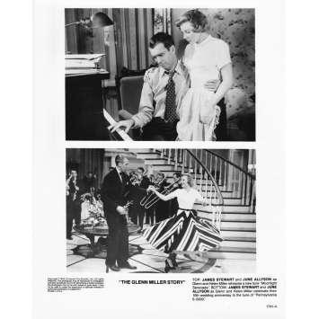 THE GLEN MILLER STORY Photo de presse 1741-4 - 20x25 cm. - R1980 - James Stewart, Anthonny Mann