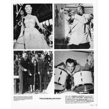 THE GLEN MILLER STORY Photo de presse 1741-2 - 20x25 cm. - R1980 - James Stewart, Anthonny Mann