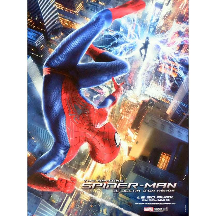 THE AMAZING SPIDER-MAN Affiche de film 60X80 - 2012 - Emma Stone, Marc Webb