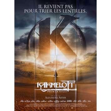 KAAMELOTT Original Movie Poster Def. - 47x63 in. - 2021 - Alexandre Astier, Sting