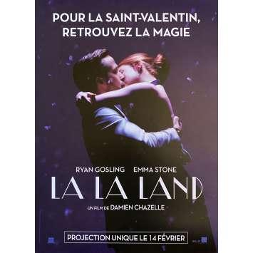 LA LA LAND Original Movie Poster St Valentine's Day - 15x21 in. - 2017 - Damien Chazelle, Ryan Gosling