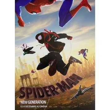 SPIDER-MAN INTO THE SPIDER-VERSE Original Movie Poster Ninja Style - 15x21 in. - 2018 - Bob Persichetti, Shameik Moore