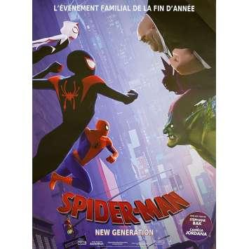SPIDER-MAN INTO THE SPIDER-VERSE Original Movie Poster Face 2 Face Style - 15x21 in. - 2018 - Bob Persichetti, Shameik Moore