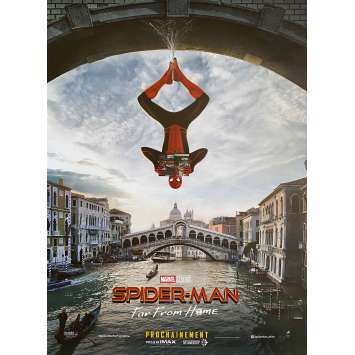 SPIDER-MAN FAR FROM HOME Original Movie Poster Venice Style - 15x21 in. - 2019 - Jon Watts, Tom Holland