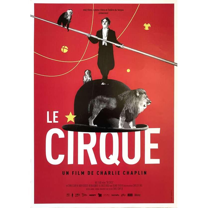 LE CIRQUE Affiche de film- 40x60 cm. - R2000 - Merna Kennedy, Charles Chaplin