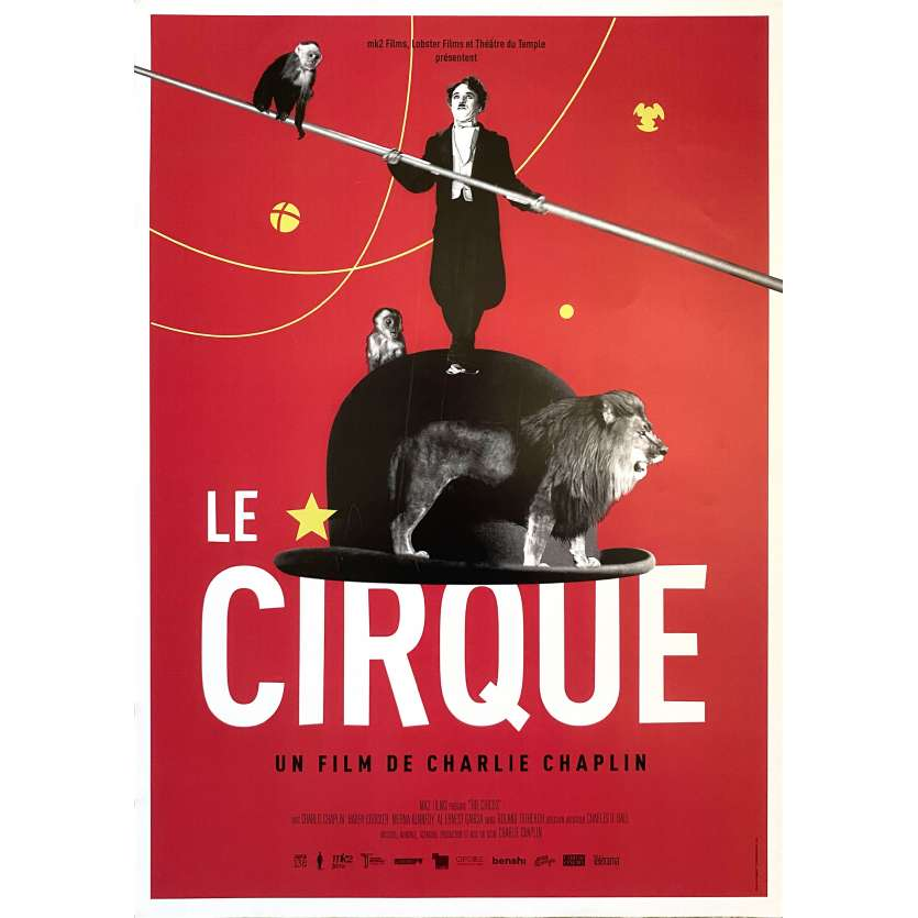 THE CIRCUS Original Movie Poster- 15x21 in. - R2000 - Charles Chaplin, Merna Kennedy