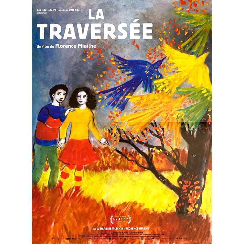 LA TRAVERSEE Affiche de film- 40x60 cm. - 2021 - Marie Desplechin, Florence Miailhe