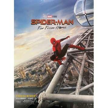 SPIDER-MAN FAR FROM HOME Original Movie Poster Adv. - 15x21 in. - 2019 - Jon Watts, Tom Holland