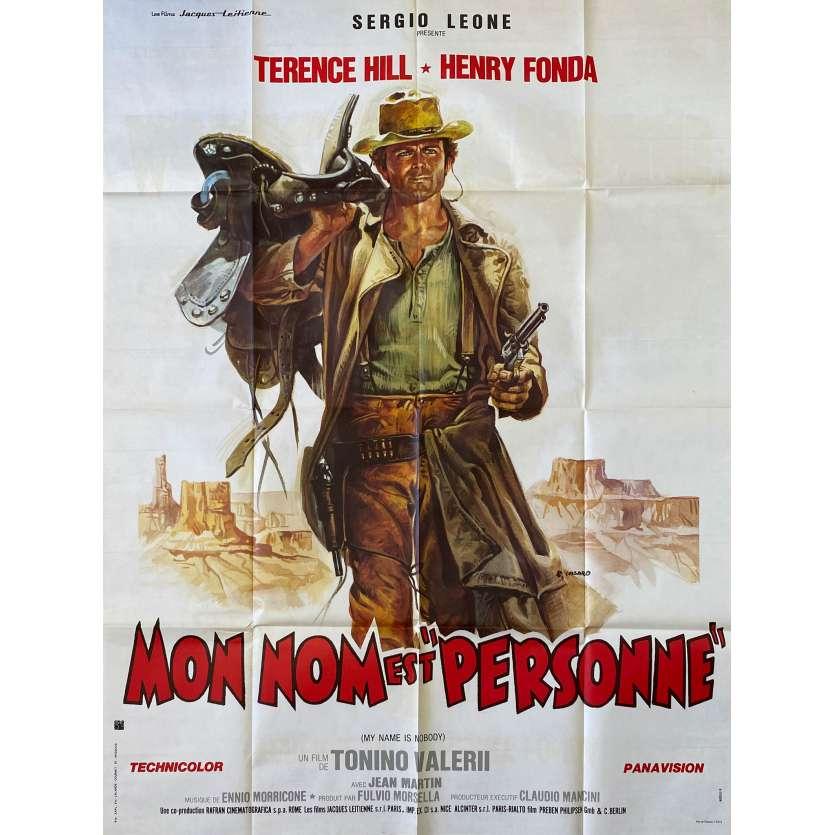 MON NOM EST PERSONNE Affiche de film 120x160 - 1978 - Terence Hill, C8