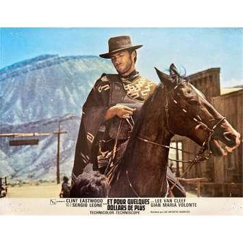ET POUR QUELQUES DOLLARS DE PLUS Photo de film N01 - 21x30 cm. - 1965 - Clint Eastwood, Sergio Leone