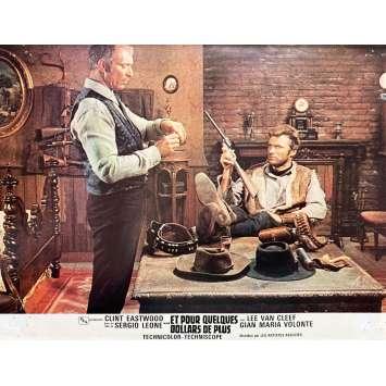 ET POUR QUELQUES DOLLARS DE PLUS Photo de film N03 - 21x30 cm. - 1965 - Clint Eastwood, Sergio Leone