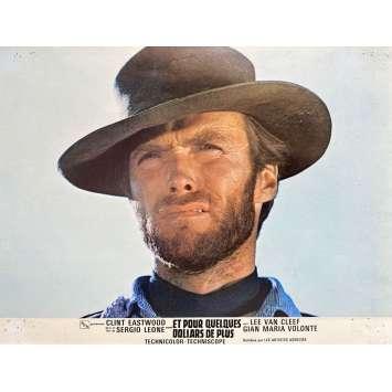 ET POUR QUELQUES DOLLARS DE PLUS Photo de film N04 - 21x30 cm. - 1965 - Clint Eastwood, Sergio Leone