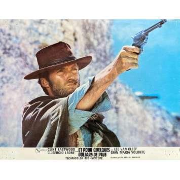 ET POUR QUELQUES DOLLARS DE PLUS Photo de film N05 - 21x30 cm. - 1965 - Clint Eastwood, Sergio Leone