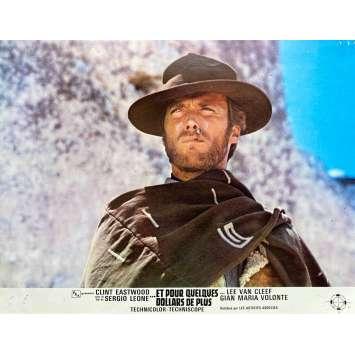 ET POUR QUELQUES DOLLARS DE PLUS Photo de film N06 - 21x30 cm. - 1965 - Clint Eastwood, Sergio Leone