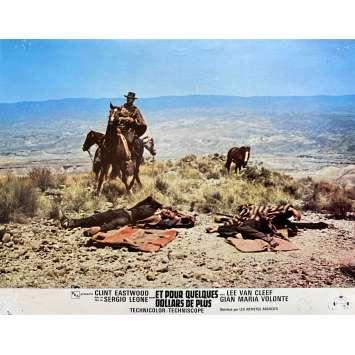 ET POUR QUELQUES DOLLARS DE PLUS Photo de film N07 - 21x30 cm. - 1965 - Clint Eastwood, Sergio Leone