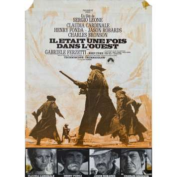 ONCE UPON A TIME IN THE WEST Original Movie Poster- 15x21 in. - 1968 - Sergio Leone, Henry Fonda