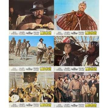 IL ETAIT UNE FOIS LA REVOLUTION Photos de film x6 - 21x30 cm. - 1971 - James Coburn, Sergio Leone