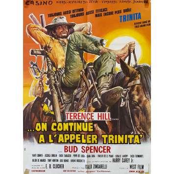 ON CONTINUE A L'APPELER TRINITA Affiche de film Mod A - 60x80 cm. - 1971 - Terence Hill, Bud Spencer, Enzo Barboni