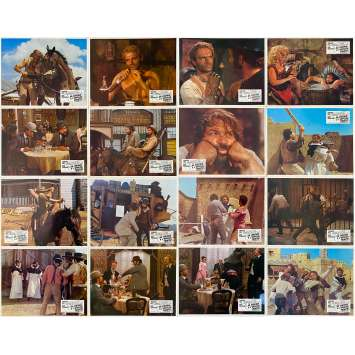 TRINITY IS STILL MY NAME Original Lobby Cards x16 - 9x12 in. - 1971 - Enzo Barboni, Terence Hill, Bud Spencer