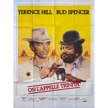 THEY CALL ME TRINITY Original Movie Poster- 47x63 in. - 1970 - Enzo Barboni, Terence Hill, Bud Spencer