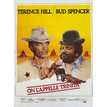 THEY CALL ME TRINITY Original Movie Poster- 15x21 in. - 1970 - Enzo Barboni, Terence Hill, Bud Spencer