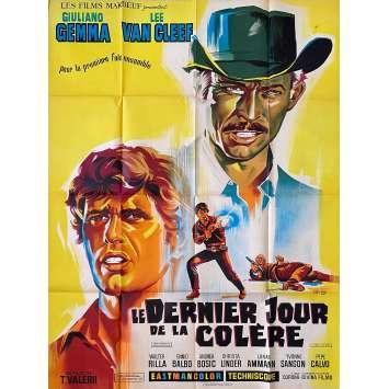 LE DERNIER JOUR DE LA COLERE Affiche de film LITHO - 120x160 cm. - 1967 - Lee Van Cleef, Giuliano Gemma, Tonino Valerii