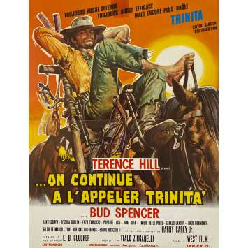 ON CONTINUE A L'APPELER TRINITA Synopsis- 30x40 cm. - 1971 - Terence Hill, Bud Spencer, Enzo Barboni