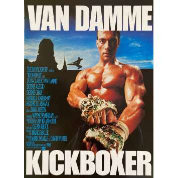 KICKBOXER Original Herald- 9x12 in. - 1989 - Mark DiSalle, Jean-Claude Van Damme