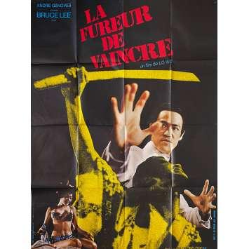 LA FUREUR DE VAINCRE Affiche de film- 120x160 cm. - 1972 - Bruce Lee, Wei Lo