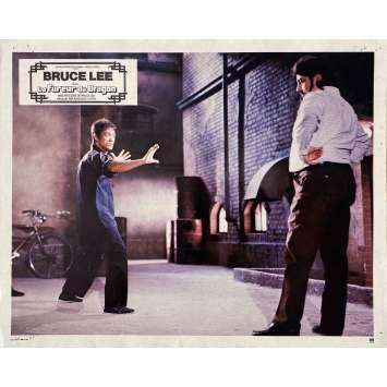 LA FUREUR DU DRAGON Photo de film N01 - 21x30 cm. - 1974 - Chuck Norris, Bruce Lee