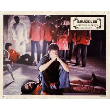 THE WAY OF THE DRAGON Original Lobby Card N02 - 9x12 in. - 1974 - Bruce Lee, Chuck Norris