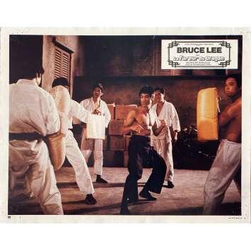 LA FUREUR DU DRAGON Photo de film N05 - 21x30 cm. - 1974 - Chuck Norris, Bruce Lee