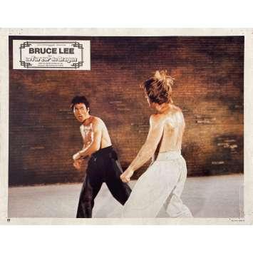 LA FUREUR DU DRAGON Photo de film N06 - 21x30 cm. - 1974 - Chuck Norris, Bruce Lee