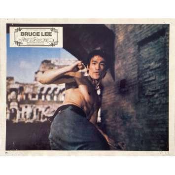 LA FUREUR DU DRAGON Photo de film N08 - 21x30 cm. - 1974 - Chuck Norris, Bruce Lee