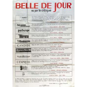 BELLE DE JOUR Original Movie Poster Review - 47x63 in. - 1967 - Luis Bunuel, Catherine Deneuve