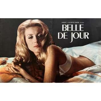 BELLE DE JOUR Dossier de presse- 30x40 cm. - 1967 - Catherine Deneuve, Luis Bunuel